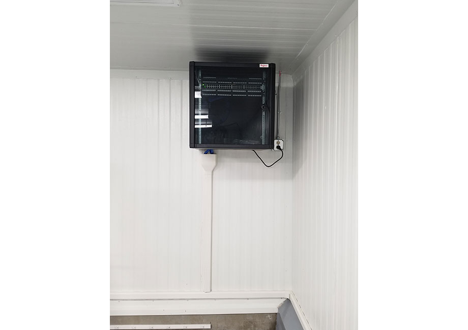 Installing Data Cabling Enclosure