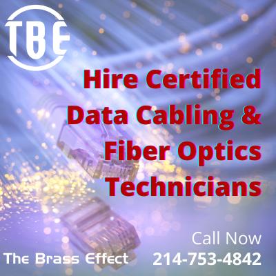 Certified Data Cabling Fiber Optics Technicians